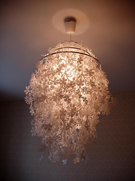 Åsa Heurling » Blog Archive » Ny lampa i sovrummet