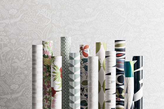 Wallpapers by Scandinavian designers - Boråstapeter