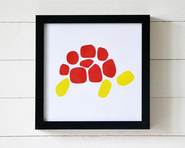 Grafiskt tryck Turtle