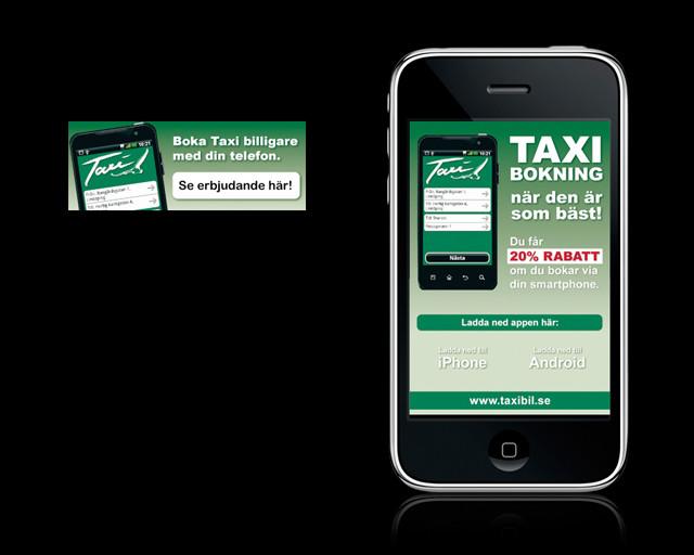 Mobilkampanj Taxibil i Östergötland