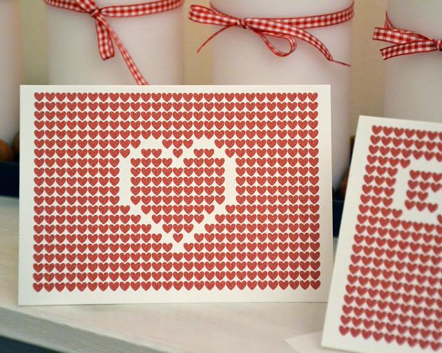 Julkort 2012 Hjärta